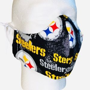 Novelty Team 100% Cotton 3 Layers Facemask